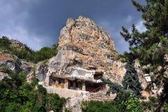 Rock Monastery Stock Image