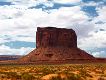 Rock in Monument Valley Royalty Free Stock Image