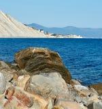 rock morza obraz stock