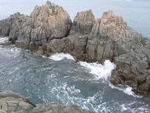 rock morza Zdjęcia Stock
