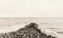 rock morza Zdjęcia Royalty Free
