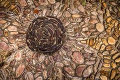 Rock Mosaic Stock Photo