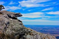 Rock mountain. Beautiful top of the mountain Stock Photos