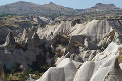 Rock mountain in cappadocia Stock Photography