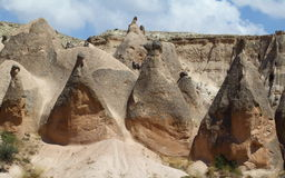 Rock mountain in cappadocia Royalty Free Stock Photos