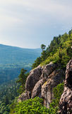 Rock mountain cliff Stock Images