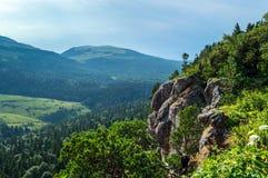Rock mountain cliff Stock Photo