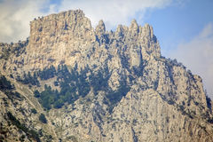 Rock Mountain in Crimea. Royalty Free Stock Photos