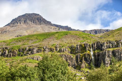 Rock mountain landscape in Iceland Royalty Free Stock Photography