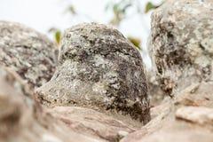 Rock in the mountain Royalty Free Stock Photos