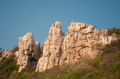 Rock mountain Stock Images