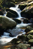 Rock and mountain stream Royalty Free Stock Images