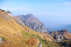 Rock of mountains Stock Photo