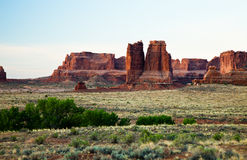 Rock Mountains at Arches Royalty Free Stock Images