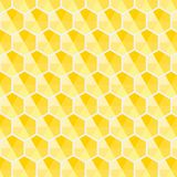Honeycomb hexagon yellow shade pattern vector background abstract stock illustration