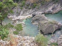Rock, ,Muntenegro, budha, travel, silence Royalty Free Stock Photos