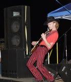 rock muscian roll Obraz Stock