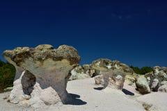 Rock mushrooms Royalty Free Stock Photography