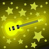 Rock music background Stock Image