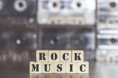 Rock Music concept Stock Photography