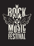 Rock music festival Stock Image