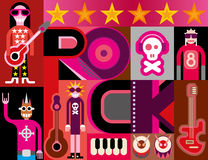 Rock Music Stock Photo