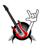 Rock music passion Royalty Free Stock Image