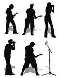 Rock music set Stock Photography