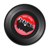 Rock music vinyl record Royalty Free Stock Photos