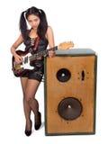 Rock musician Stock Photo