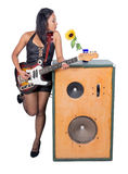 Rock musician Royalty Free Stock Image