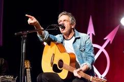 Rock musician Michael falch singer songwriter and storyteller stock photos