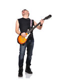 Rock musician royalty free stock image