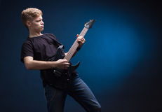 Rock musician Stock Image