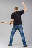 Rock musician Stock Photography