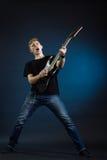 Rock musician Stock Photos