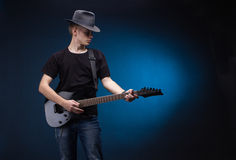 Rock musician Royalty Free Stock Images