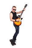 Rock musician Stock Images