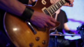 Rock musicians stock footage