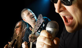 Rock-n-roll royalty free stock images