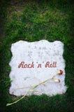 Rock 'n' roll is dead Stock Photos