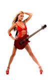 Rock N Roll Lingerie Royalty Free Stock Photos