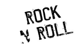 Rock N Roll rubber stamp royalty free illustration