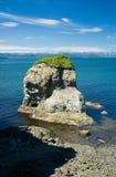 Rock near city. Great rock near city Petropavlovsk-Kamchyatskiy, shot in 2007 year stock images