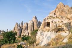 Rock near Goreme Royalty Free Stock Photo