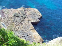 Rock in ocean Royalty Free Stock Photo