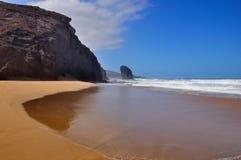 Rock in the ocean Stock Image