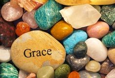 Rock Of Grace Royalty Free Stock Images