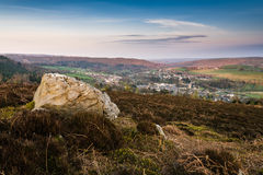 Rock over Rothbury royalty free stock photography