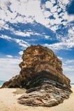 Rock på den Marang stranden fotografering för bildbyråer